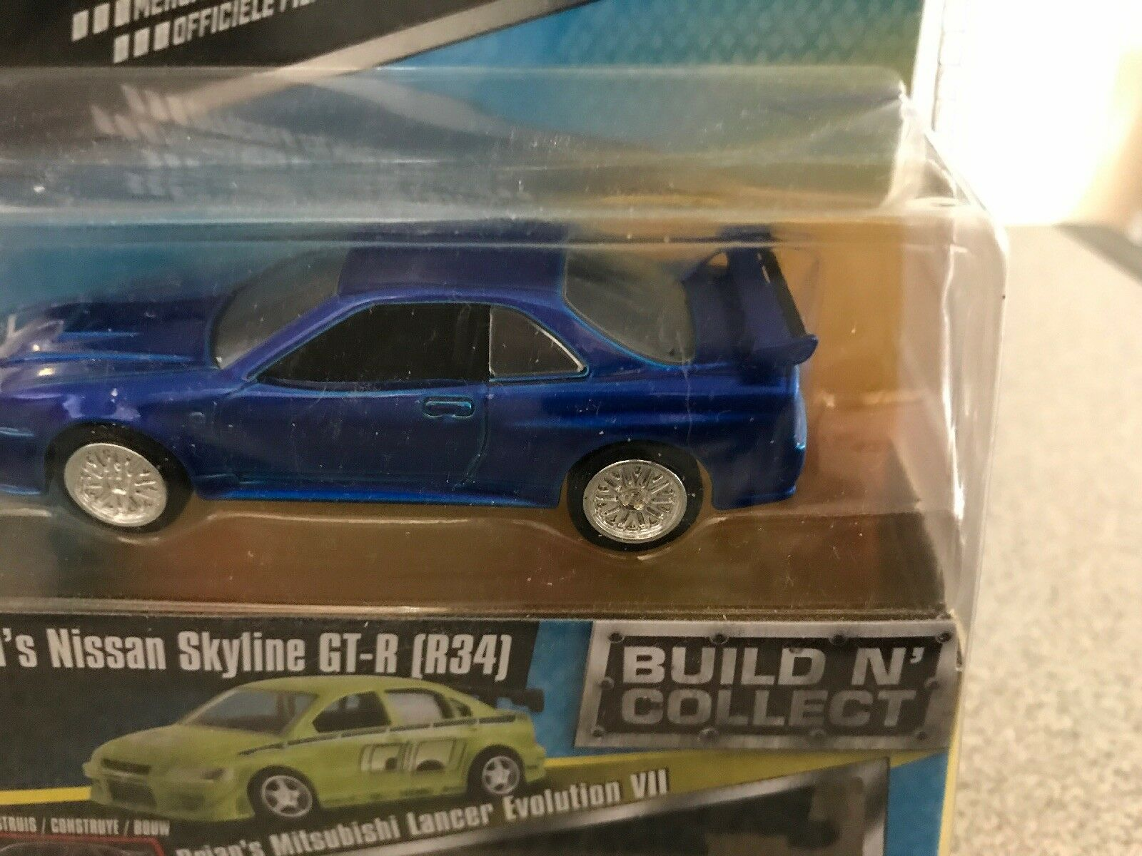 4 4 4 Car Set Of Fast and Furious Skyline Chevelle Charger & Challenger 20bc69