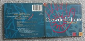 Crowded House  Instinct  Original UK 4 TRK CD Single - <span itemprop='availableAtOrFrom'>Bromley, United Kingdom</span> - Crowded House  Instinct  Original UK 4 TRK CD Single - Bromley, United Kingdom