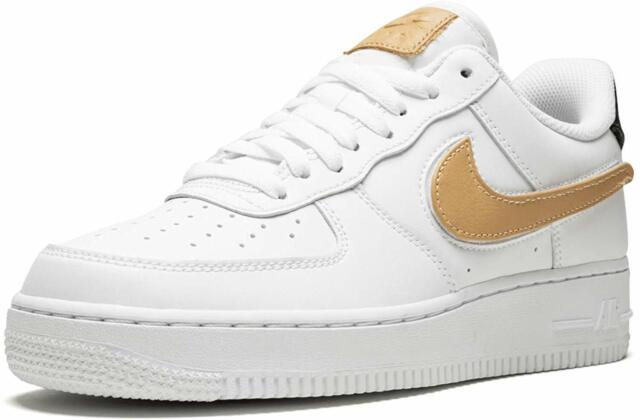 Nike Air Force 1 '07 LV8 3 WhiteWhite Obsidian (Removable Swoosh) (CT2253 100)