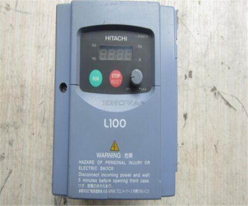 1Pcs Hitachi L100-007NFE Inverter 220V 0.75K Tested Used ss