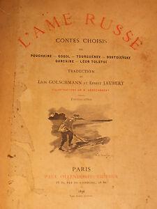 L-039-ame-Russe-Contes-choisis-de-Pouchkine-Gogol-Tolstoi-1896