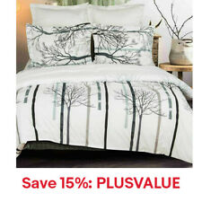 1800 Microfiber Duvet Cover Set Luxurious Quality Cover, 15% Off: PLUSVALUE