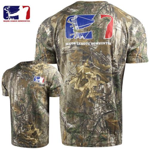 RTX Major League Bowhunter Men/'s Tiller T-Shirt 2X