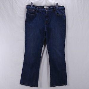 Size-16-Levis-Jeans-Blue-Denim-515-Boot-Cut-Womens