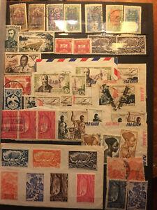 Timbres-de-collection-Afrique-Equatoriale-1920-a-1955