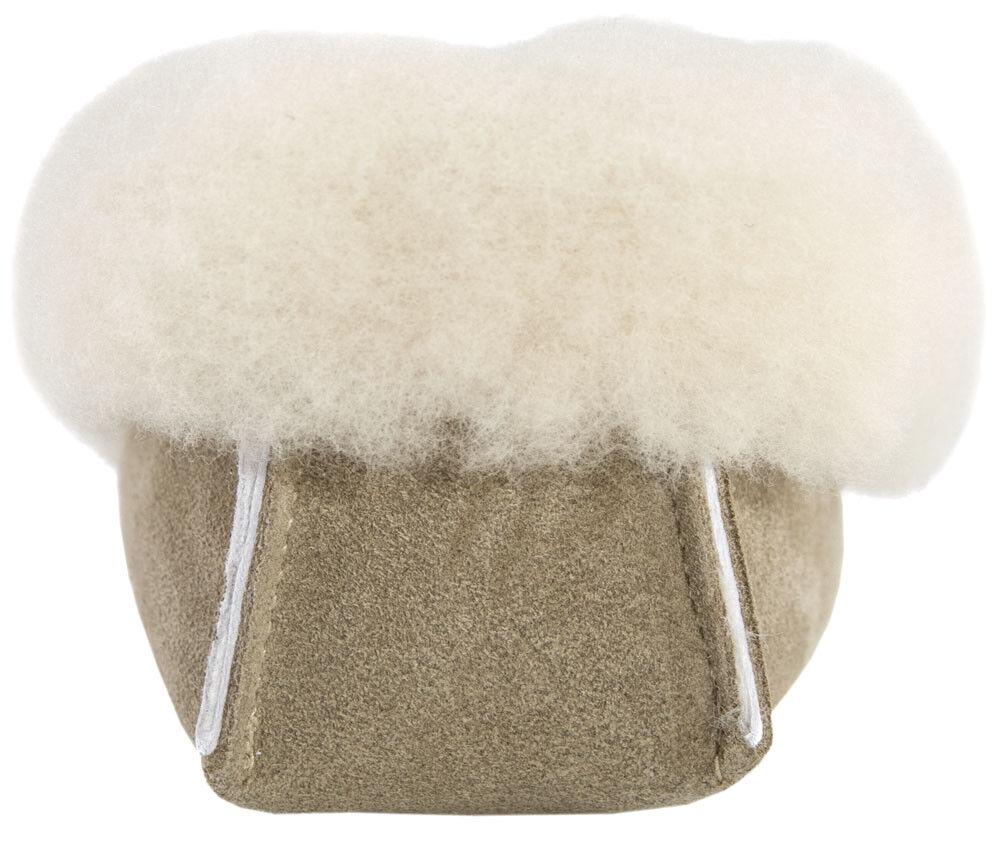 Damen Echt Echtes Schafsfell Gefüttert Beige Mokassin Hausschuh Weiche Sohle Beige Gefüttert b4fe2b