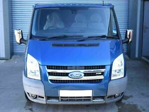 Chrome Stainless Steel 2pc Front Grill Surround Kit For Ford Transit Mk7 06 14 5060481710282 Ebay