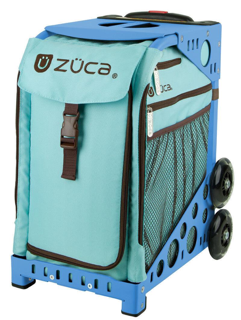 Zuca Calypso Insert Bag & bluee Frame with Flashing Wheels