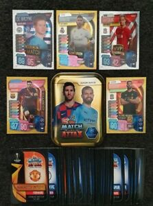 2019-20-Match-Attax-UEFA-Soccer-Cards-Mini-Tin-40-cards-incl-5-shiny