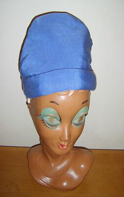 100% Vero Bambino Blu Gnomo Folletto Nano Cappello Mago Medievale Costume 54cm-