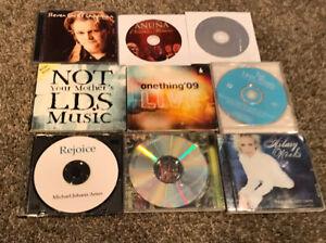 Lot Of 9 Christian Worship Music CDs Steven Curtis Chapman LDS