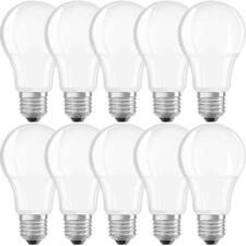 10 x Neolux LED Leuchtmittel Birnenform 6W = 40W E27 matt 470lm warmweiß 2700K