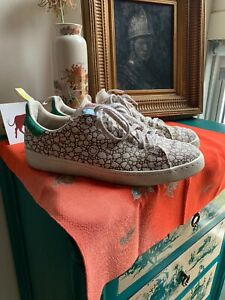 buy online 0d3c5 50164 Details about size 11 BAIT Adidas Stan Smith Vulc Hemp Happy 420