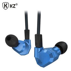 KZ ZS5 2DD+2BA Hybrid In Ear Earphone HIFI Monitor Sport Earplug Headset Earbuds