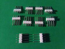10 Lot 4 Pin Molex Headers 100 Kk Series 254mm 22 03 2041 22032041