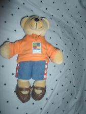 "USPS Teddy Bear Love Stamp Bear 10"" Plush Soft Toy Stuffed Animal"
