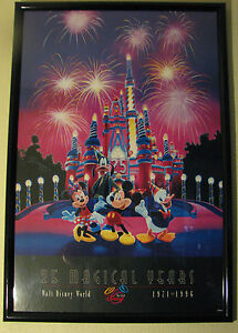 Image Is Loading 25 MAGICAL YEARS 1971 1996 WALT DISNEY WORLD