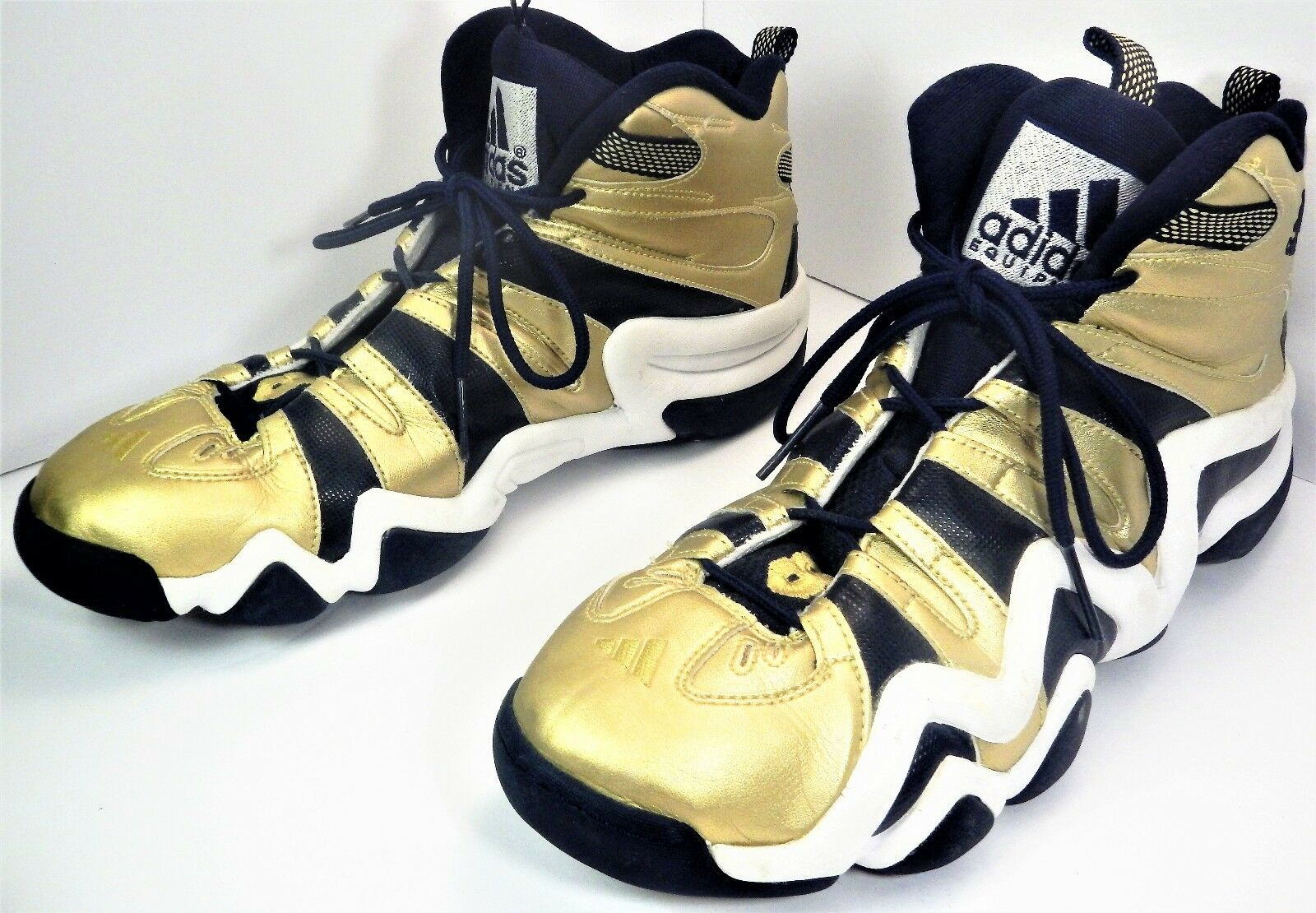 2011 ADIDAS Crazy 8 NOTRE DAME Navy Gold Limited G21469 US 15 /3