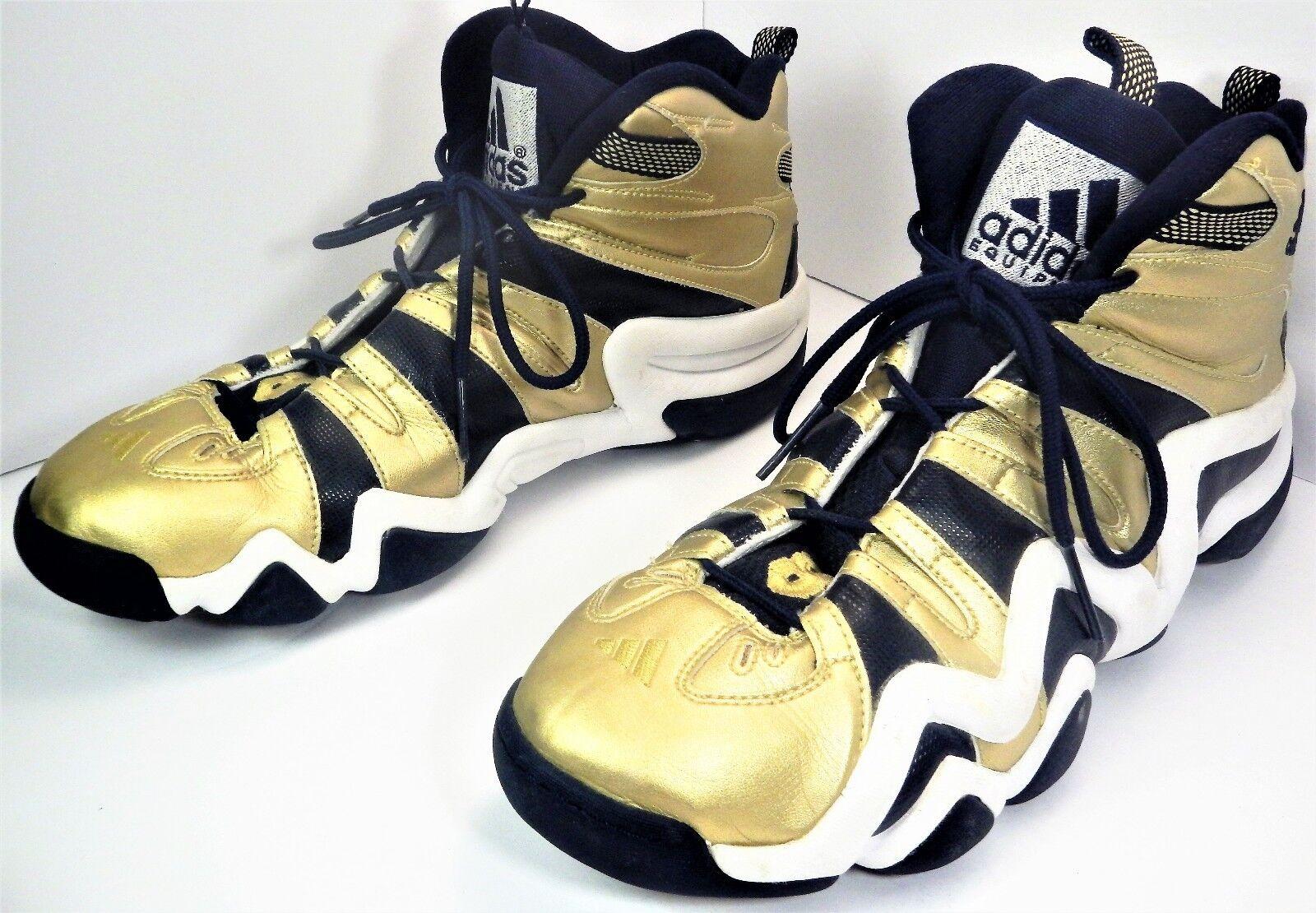 2011 adidas crazy crazy crazy 8 notre - dame marina oro limitata g21469 15 / 3 51043b