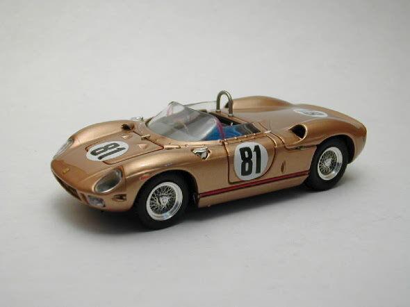 te hará satisfecho Ferrari 275 P  81 81 81 Sebring 1965 1 43 Model 0159 ART-MODEL  moda clasica