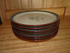 "NORITAKE Stoneware Pleasure 7 Large 10.5"" Dinner Plates  8344 COMBINE SHIPPING"