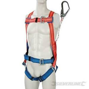 Silverline-Restraint-Kit-Harness-Safety-Protection-lanyard-with-alloy-steel