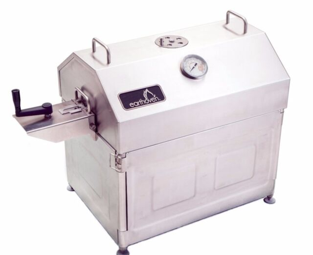 Earth Oven® Pro - BBQ Grill, Smoker, Rotisserie Roast, Stainless Steel Pit BBQ,