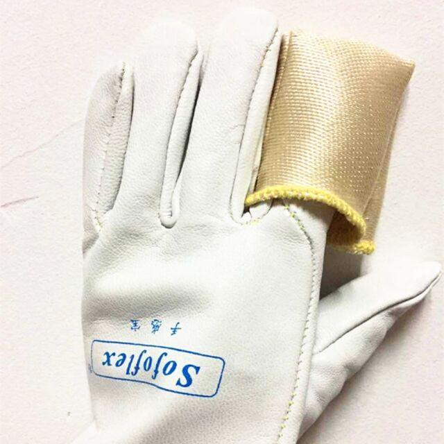 2PCS TIG Finger Welding Gloves Heat Shield Guard Heat Protection Gear USA