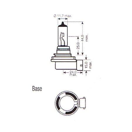 H8 708 Xenon 48SMD TURBO LED CANBUS ERROR FREE Car Fog Bulbs A