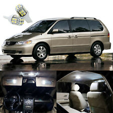 15 x Xenon White LED Lights Interior Package Kit For Honda ODYSSEY 1999 - 2004