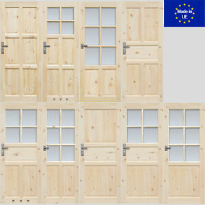 t r londyn normandia holzt r t rfl gel zimmert r innent r 60 70 80 90 100 cm ebay. Black Bedroom Furniture Sets. Home Design Ideas