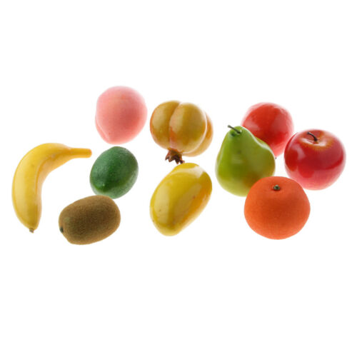 Real Size Artificial Fruit Toy Food Replica Model Kitchen Scene Display ACCS