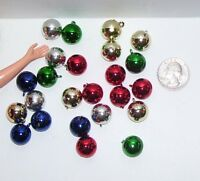 Fashion Doll Accessory 1/6 Scale Miniature Ball Christmas Tree Ornament Lot 1