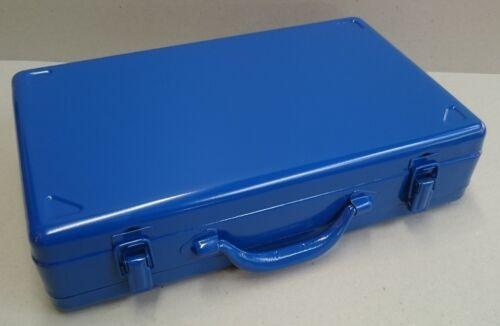 Metallkoffer Werkzeugkoffer Maschinenkoffer Stahlblechkoffer ca.390x240x90mm
