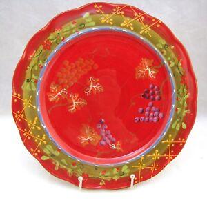Image is loading Terracotta-Hand-Painted-REVE-DE-PROVENCE-Dinner-Plate-  sc 1 st  eBay & Terracotta Hand-Painted REVE DE PROVENCE Dinner Plate(s) 11