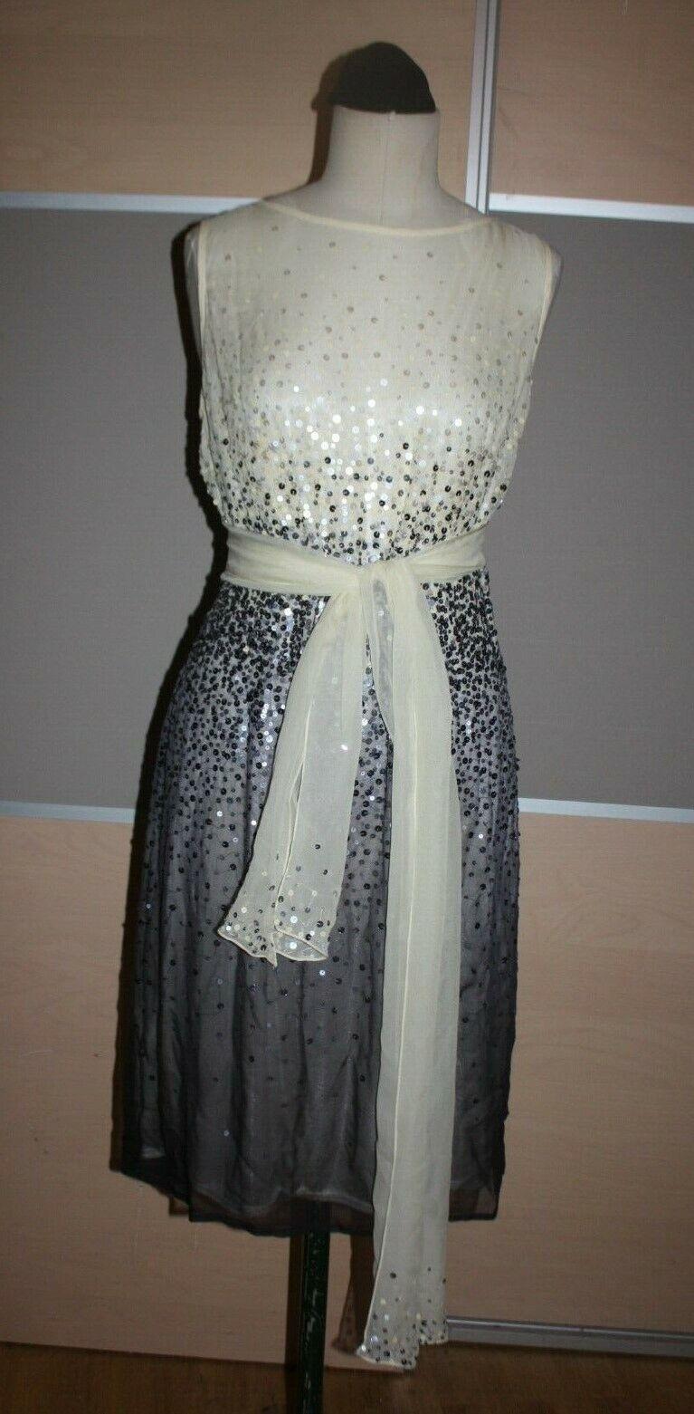 BARBARA SCHWARZER, Luxus Abendkleid Cocktailkleid Kleid, Gr. 40, NEU, STRASS