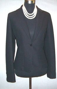 1decd56883d Image is loading Arnaldo-Bassini-Black-Dress-Casual-Blazer-Suit-Jacket-