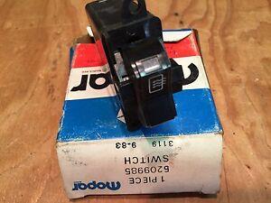 84 85 86 87 dodge charger shelby 2 2 nos mopar rear