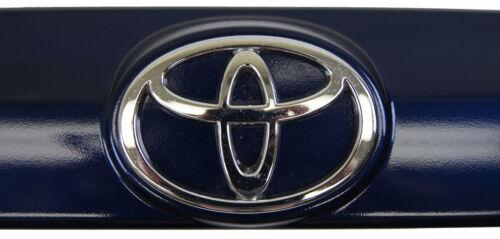 2002-04 Toyota Voltz Rear Logo Garnish Blue Metallic New Japan ONLY 7680101090J0