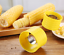 New Corn Cob Stripper Remover Serrated Stainless Steel Blade Kitchen Tools US