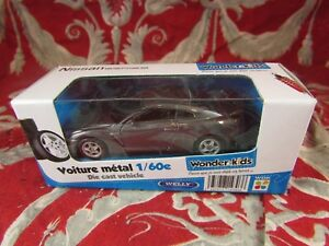 Car-Miniature-1-60-in-Sound-Packaging-Wonder-Kids-Welly-Nissan-Gt-R