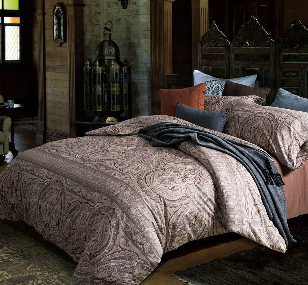 Cotton Egyptian Hypoallergenic Duvet Cover Set Bedding Set with 2 Pillow Shams