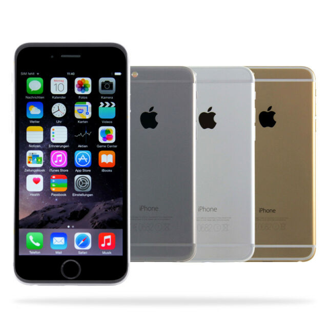 Apple iPhone 6/64gb 128gb/Space gris plata oro/distribuidor/usado