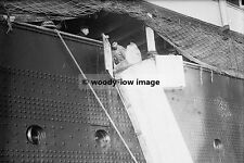 rp3796 - Liner - Lusitania , mail chute - photo 6x4