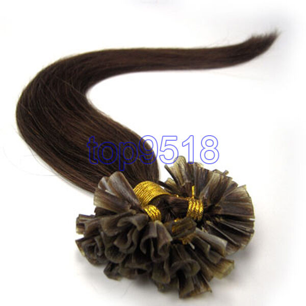 """New 16""""18""""20""""22""""26""""100s U/Nail Keratin Tip Remy Human Hair Extensions MORE COLOR"""