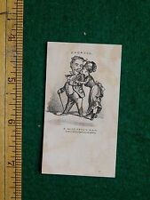 1870s-80s Engaged A Miss-Taken Man Bufford Boston Victorian Trade Card F15