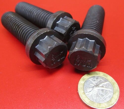 """12 Point Flanged 10 Pc FT 5//8/""""-11 x 1 3//4/"""" Length Ferry Bolt Steel"""