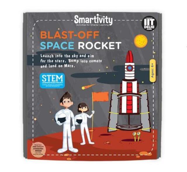 Smartivity Blast-Off Space Rocket Age 6+ Science Kit DIY