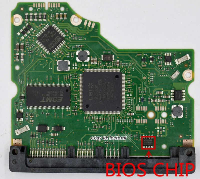 100574451 REV B Seagate PCB Circuit Board Hard Drive Logic Controller Board