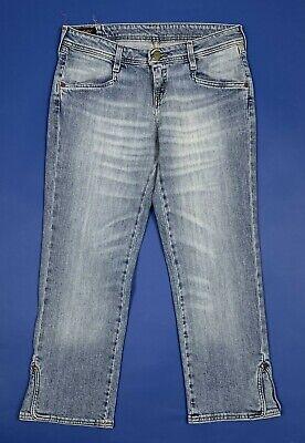 Disciplinato Lee Valentine Shorts Bermuda Capri Jeans Uomo Usato W28 Tg 42 Boyfriend T5532 Saldi Estivi Speciali